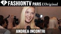 Andrea Incontri Backstage | Milan Fashion Week Spring/Summer 2015 | FashionTV