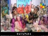 Aiza Khan and Danish Taimoor First Show After Marriage - 6th October 2014 Part 3