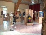 Visite rapide et panoramique de l'exposition, Festival d'Art Contemporain de Saint-Florent-sur-Auzonnet 2014