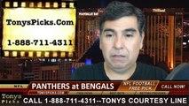 Tonys Picks Handicapping TV Show Free NFL Football Predictions Previews Odds October 6th 2014
