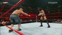 John Cena vs CM Punk I,WWE Monday Night RAW 23.11.2009