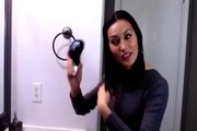 Glide Thru best detangling hair brush for detangling knots and tangles