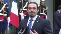 Lebanese ex-PM urges stronger strikes against IS group