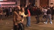 Polis, Galatasaray Meydanı'nda Eylemcilere Müdahale Etti