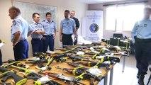 44 personnes en garde à vue après le démantèlement d'un trafic d'armes sur Internet