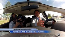 New Study Suggests Hands-Free Driving Devices May Not be Safer.