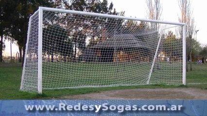 Instrucciones de Instalacion de Red en Arco de Futbol
