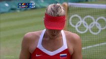 Maria Sharapova vs Kim Clijsters 2012 London QF Highlights
