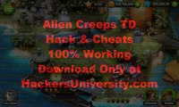 Alien Creeps TD Hack (Unlimited Gems and Coins Cheats) [Android and iOS]