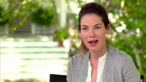 The Best Of Me Interview - Michelle Monaghan (2014) - James Marsden Romance Movie
