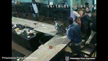 Bar Surveillance Cameras Capture Violent Assault