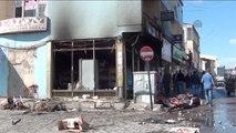 Erciş'te Sokağa Çıkma Yasağı Devam Ediyor
