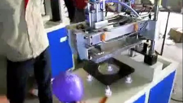 Balloon Flat Screen Printer Balloon Flat-Bed Screen-Printing Machine