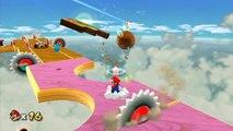 Super Mario Galaxy 2 - Monde 2 - Scierie sidérale : Le casse-tête en bois