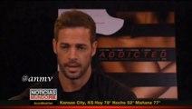 William Levy (@willylevy29) habla en Noticias MundoFOX sobre su papel en 'Addicted'