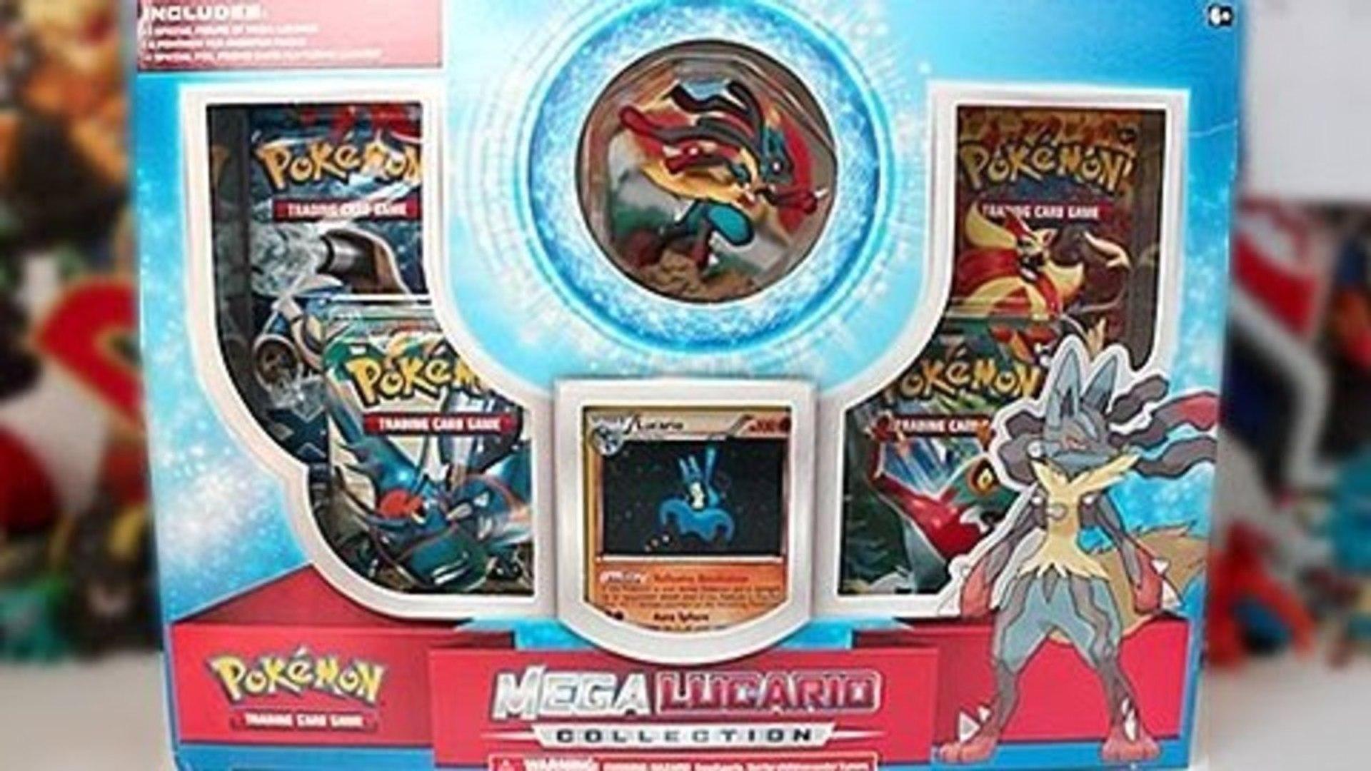 Opening A Mega Lucario Collection Box