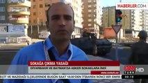 Diyarbakır'da Sokağa Çıkma Yasağı Gece Devam Edecek