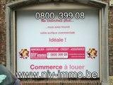 Niv immo à Nivelles vous propose un commerce à louer (libre), centre ville à 2 pas de la Grand Place, dans la principale rue commerçante de 1400 Nivelles un espace commercial de 117m² avec 6 pièces, caméra et alarme idéal pour un magasin,boutique, bureau