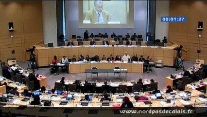 Philippe EYMERY intervient sur le Contrat Plan Etat Région