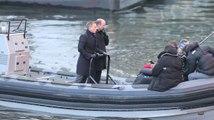 Daniel Craig ist nach seinem Unfall wieder am Set und dreht