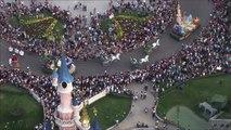 Disneyland Paris - La Magie Disney en Parade vue du ciel