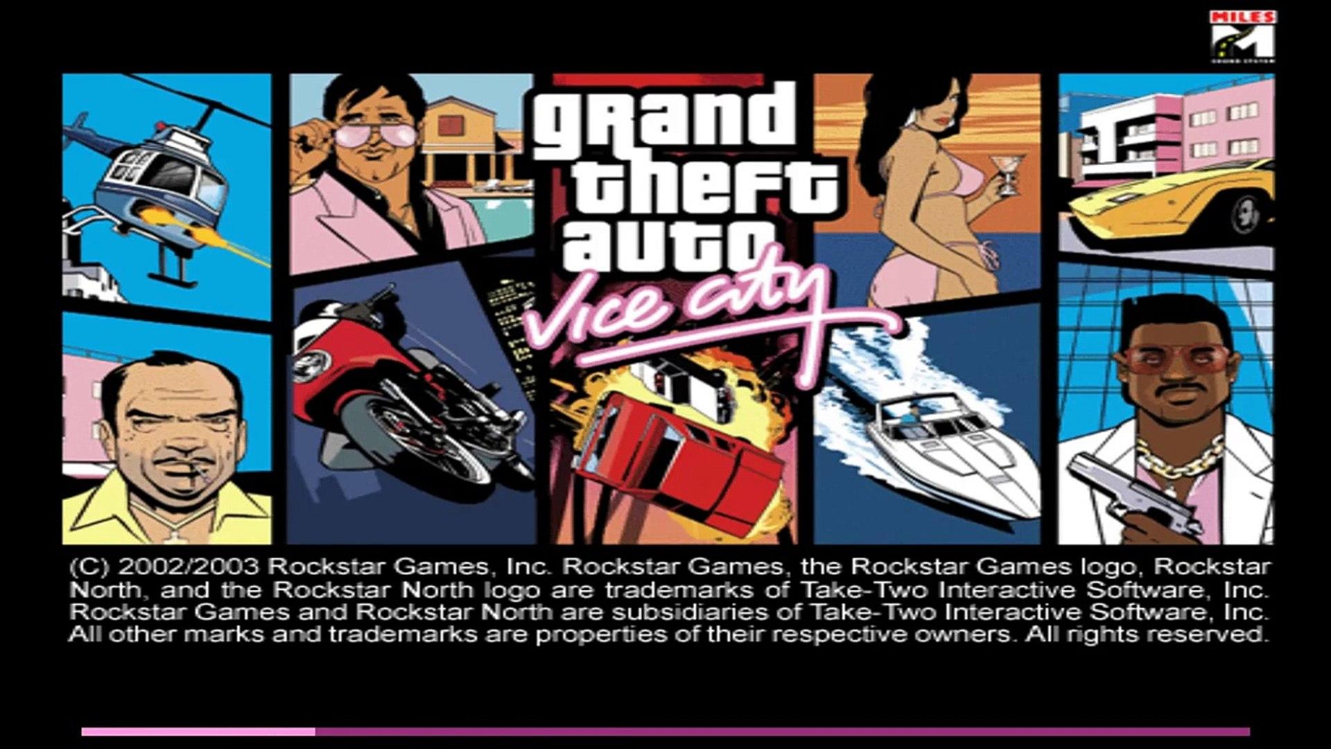 GTA Vice City Walkthrough Mission#1-Intro / In The Beginning (HD)