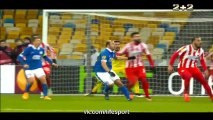 Dnipro vs Olympiakos 2-0 all goals and highlights 19.02.2015