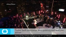 Taylor Swift and Kanye West Publicly End Feud Over Dinner
