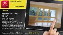 A vendre - appartement - SAUMUR (49400) - 4 pièces - 96m²
