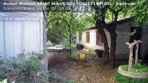 A vendre - maison - SAINT MAUR DES FOSSES (94100) - 5 pièces