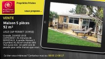 A vendre - maison - LEGE CAP FERRET (33950) - 5 pièces - 92m²