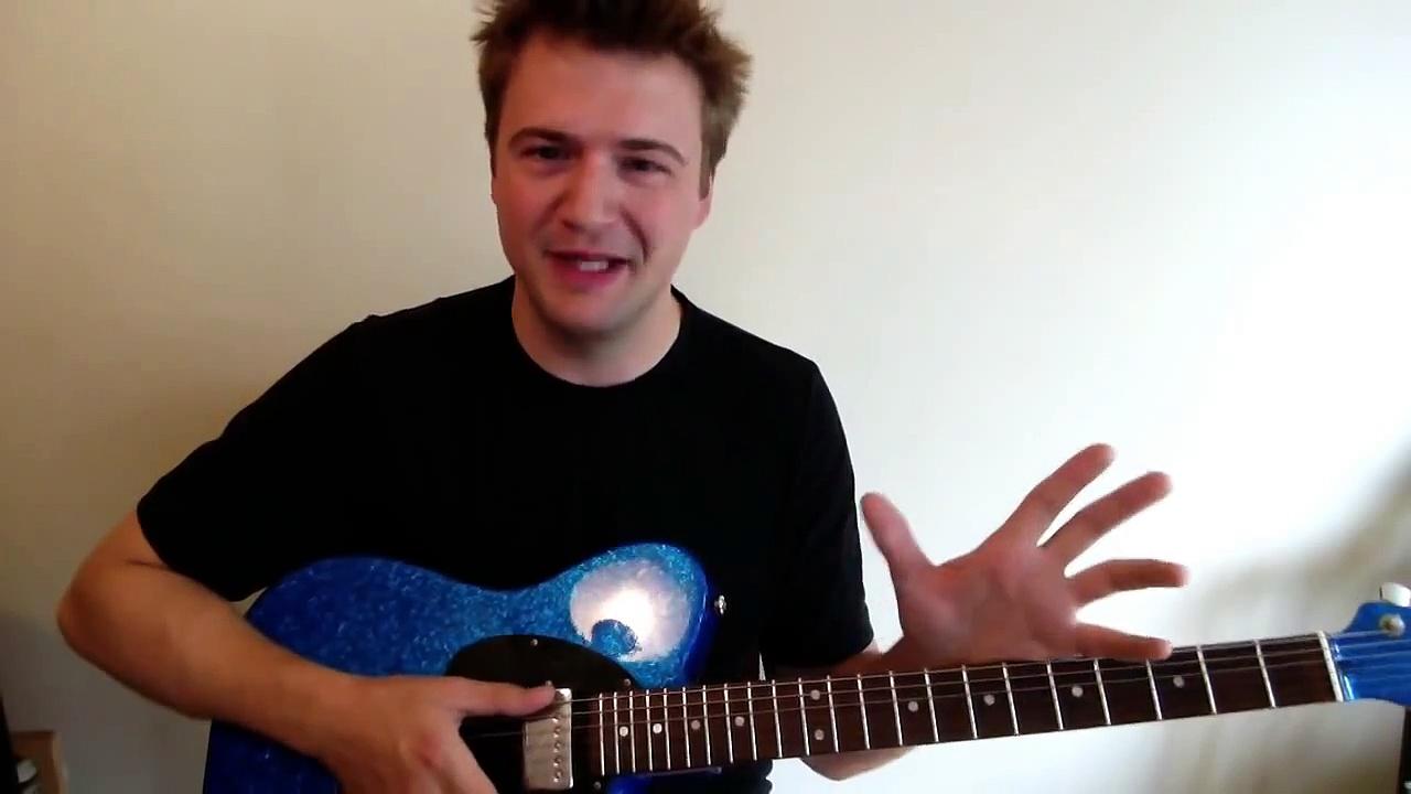 Jazz Guitar Lesson: Beginning Jazz Blues Improvisation – Jazz Guitar Scales Shortcut (easy)