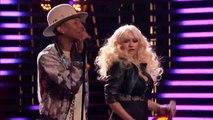 Christina Aguilera + Adam Levine + Pharrell Williams + Blake Shelton - Are You Gonna Go My Way (Lenny Kravitz) - Live The Voice 2015 720p
