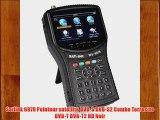 Satlink 6979 Pointeur satellite DVB-S DVB-S2 Combo Terrestre DVB-T DVB-T2 HD Noir