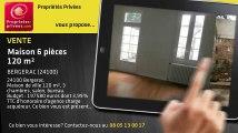 A vendre - maison - BERGERAC (24100) - 6 pièces - 120m²