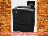 HP LaserJet Pro ePrint 400 M401dn Imprimante laser monochrome avec ?cran tactile 33 ppm Ethernet