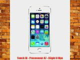 Apple iPhone 5s Smartphone d?bloqu? 4G (Ecran : 4 pouces - 32 Go - iOS 7) Argent
