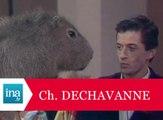 Culte: Christophe Dechavanne arrosé par le pipi d'un rongeur - Archive INA