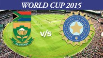 2015 WC Ind vs SA SA coach afraid of Virat Kohli