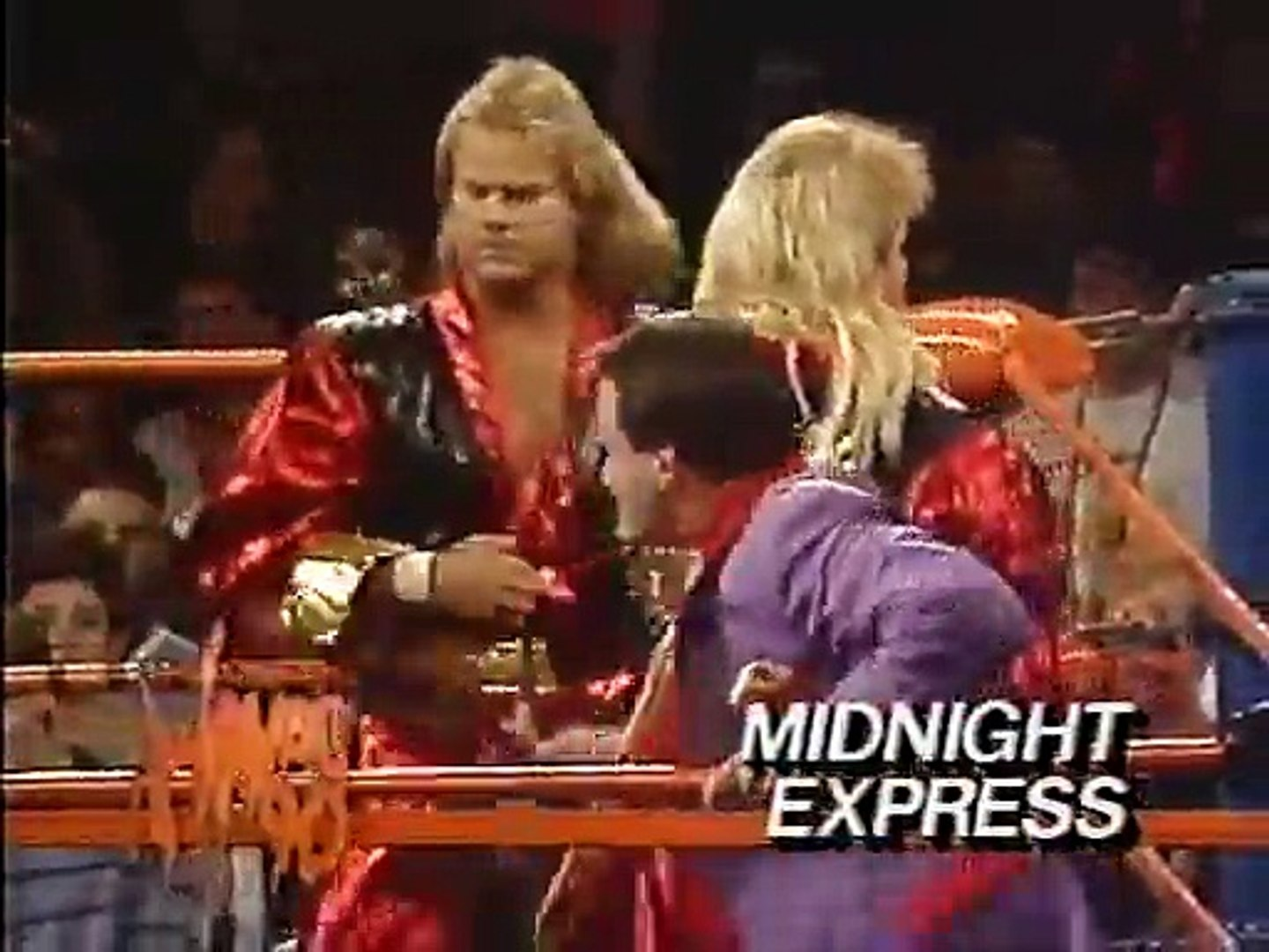 Image result for wcw halloween havoc 1990 Ricky Morton/Tommy Rich vs The Midnight Express