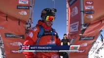 FWT15 - Run of Matt Francisty (CAN) Swatch Freeride World Tour 2015 Fieberbrunn By The North Face restaged in Vallnord-Arcalis AND