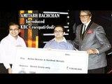 Amitabh Bachchan With First Crorepati Jodi Winner Of KBC '8'