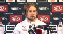 Point Presse - Jaroslav Plasil - Rennes vs Bordeaux
