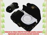 MegaGear Ever Ready Protective Black Leather Camera Case Bag for Nikon COOLPIX P330 Nikon COOLPIX
