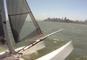 Riding San Francisco Bay in Viper Catamaran