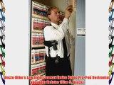 Uncle Mike's Black Kodra Nylon Sidekick Vertical Shoulder