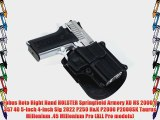 Fobus Roto Holster RH Paddle SP11BRP Springfield Armory XD / HS 2000 9/357/40 5 4 / Sig 2022