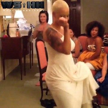Amber Rose danse le twerk !Amber Rose dancing Twerk!