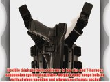BLACKHAWK! Serpa Level 3 Tactical Black Holster Size 13 Right Hand (Glock 20/21/21SF(not 1913