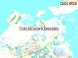 Canon MP830 Full - Legit Download 2015